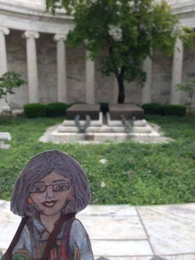 Flat Ruthie at Harding Tomb