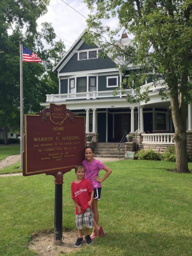 Warren G Harding Home